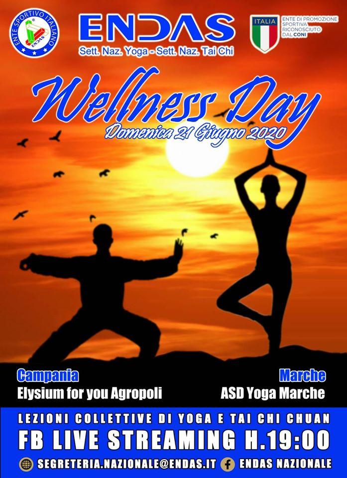 ENDAS Wellness Day 21 Giugno 2020